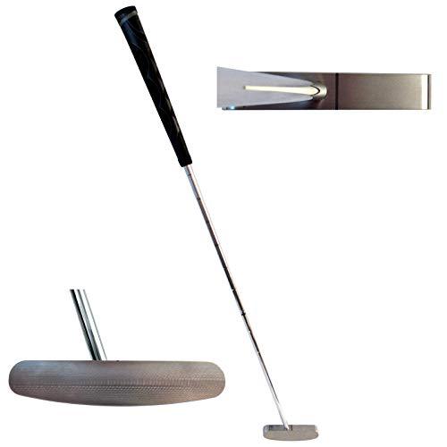 """Bell Putters 2 Way Golf Putter 400g Toe Balanced with Winn Jumbo/Oversize Putter Grip and 35"""" Shaft"""