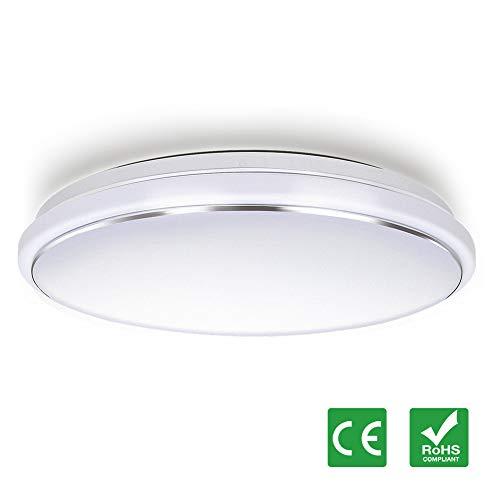 LED Deckenleuchte Dimmbar 62W Φ45cm, Tonffi Deckenlampe Farbtemperaturen nd Helligkeit einstellbar mit Fernbedienung für Bad Schlafzimmer Wohnzimmer Flur Küche Balkon Büro