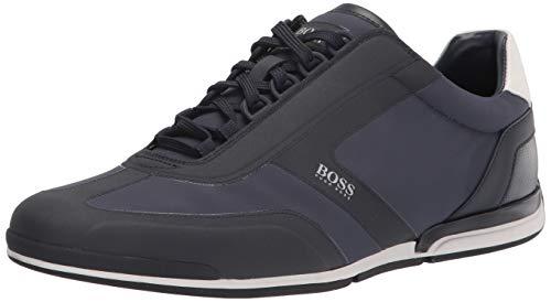 Hugo Boss mens Sneakers Slipper, Deep Midnight Navy, 8 US
