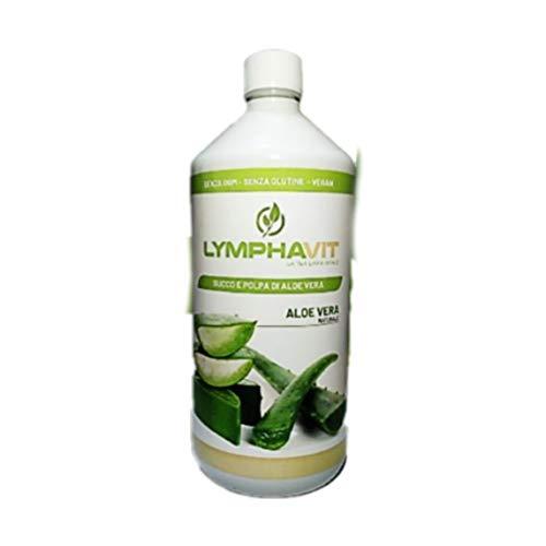 Aloe Vera to drink - Juice and Pulp of Aloe Vera to drink Lymphavit 1 Litre (Juice and Pulp of Aloe Vera)