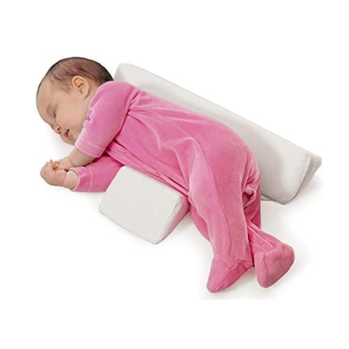 Almohada moldeadora de estilo Almohada lateral antivuelco para dormir Almohada triangular para posicionamiento de bebé infantil para 0-6 meses