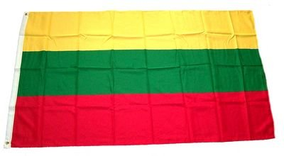 Fahne / Flagge Litauen 60 x 90 cm Fahnen