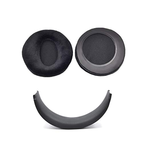 zhangcr Ohrpolster für Sony Wireless PS3 PS4 CECHYA-0080 Kopfhörer