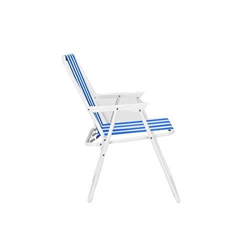 LDM Tragbarer Klappstuhl, einfacher moderner tragbarer bequemer klappbarer Strandkorb für Camping-Rasenreisen im Freien