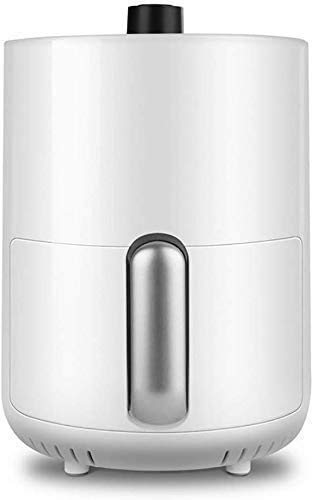 Wghz 4.3L Elektro-Luftfritteuse-Ofenkocher mit Temperaturregelung, Antihaft-Bratkorb, Rezeptanleitung Automatische Abschaltfunktion Home Kitchen (Farbe: Deepred)