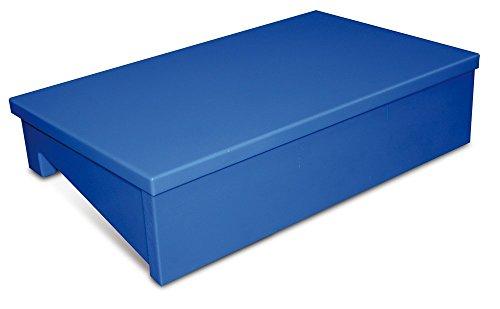 Fricosmos 074460 Tajo-Expositor de Fibra para Mostrador de Pescadería, Azul
