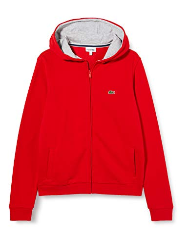Lacoste Sport Jungen Sj2903 Pullover, ROT/Silber China, 14A