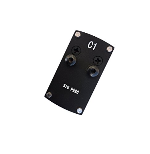 Ade Advanced Optics Sigplate-1 Sig Sauer P226 Mounting Plate for Vortex Venom/Burris Fastfire/Sightmark Reflex Dot Sight, Red