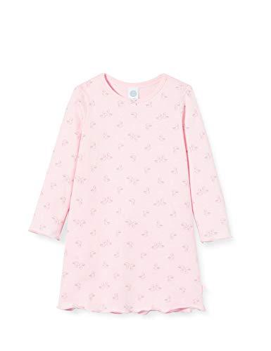 Sanetta Mädchen Sleepshirt Sorbet Rosa Nachthemd verspielten Schwanen-Allover, 116