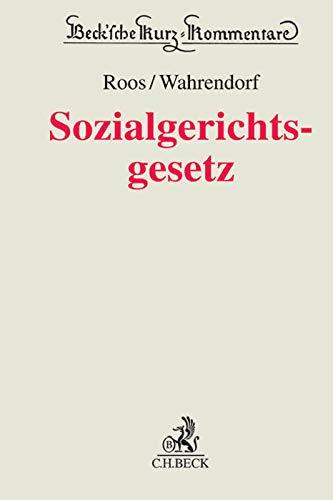 Sozialgerichtsgesetz: Kommentar