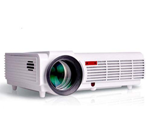 TQTQ Proyector, Proyector De LED96 LED Smart Home 1080P Proyector De Alta Definición, Proyector De Inicio De HD Home Inteligente LED Projector, Portable Video Proyecto
