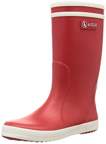 Aigle Lolly Pop Gummistiefel 84564 Unisex-Kinder, Rot (rouge/blanc 8), 84558, 28