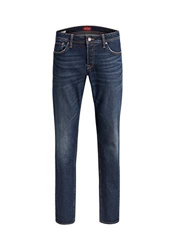 JACK & JONES Tim Original CR150 Slim Straight Herren Jeans, Hosengröße:W31/L32
