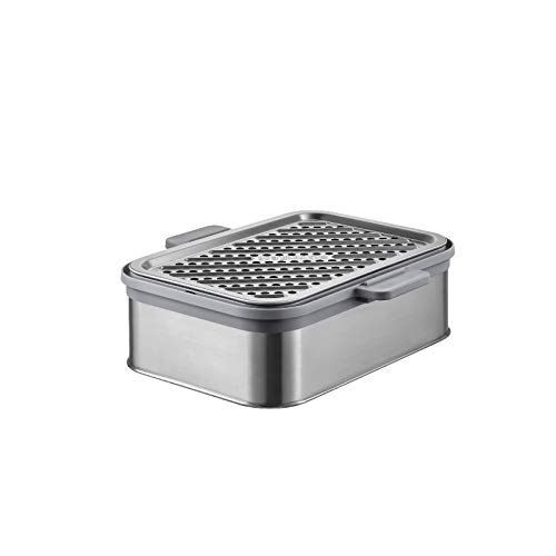 BUYDEEM Stackable Double Tier for Electric Food Steamer, with 18/8 Stainless Steel Tray & Handles, Suitable for G563 One-Touch Vegetable Food Steamer, 11x4 Inch