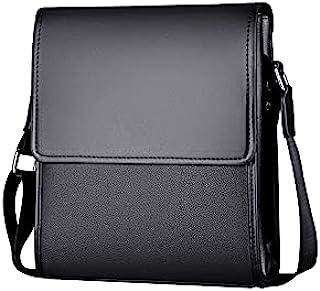 HoujiilollDJB Shoulder Bag for Men, Men's Messenger Bag fashion crossbody Bags for male Casual pu leather Shoulder bag Han...