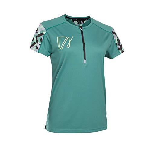 Ion Traze dames fiets shirt kort groen 2019