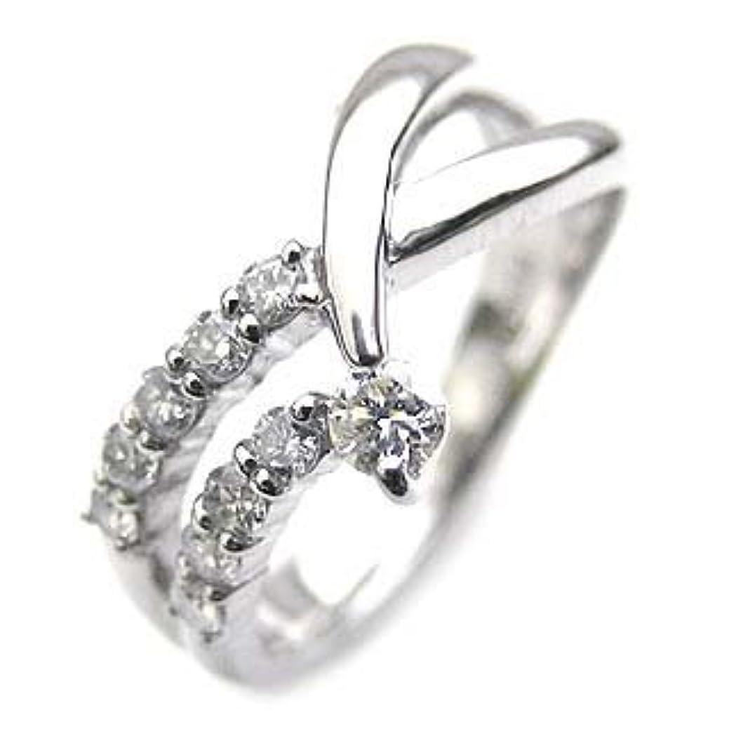 エンゲージメント一口ストライドプラチナ 10個のダイヤモンドで記念 ダイヤモンドリング #8