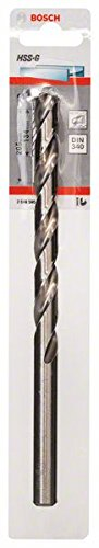 Bosch Professional Metallbohrer HSS-G geschliffen mit langer Arbeitslänge (Ø 12 mm)