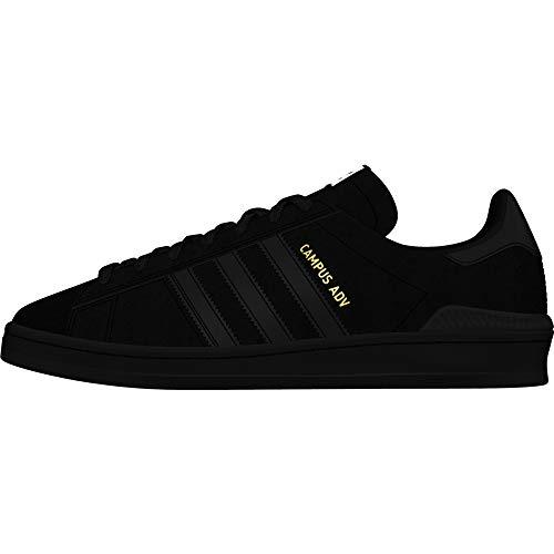 adidas Hombre Campus ADV Zapatos de Skate Negro, 46 2/3