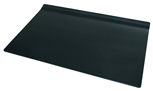 HAN Schreibunterlage smart-Line 92110-13 in Schwarz – Schreibtischunterlage für das Office - rutschfeste und möbelschonende Tischauflage & Mousepad in einem