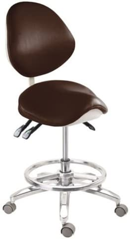 APHRODITE PU Leather Deluxe Al sold out. Mobile Chair Max 40% OFF Doctor's Stool Saddle-1