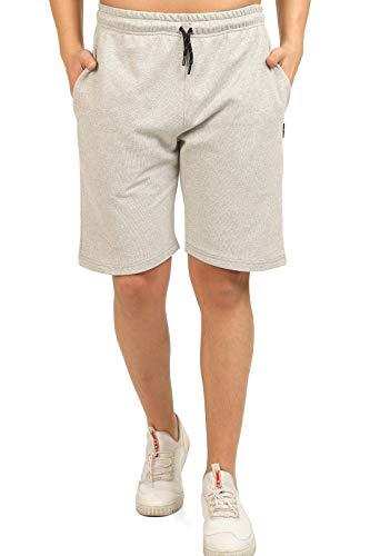 Comeor Pantaloni sportivi da uomo, corti, da jogging, da corsa, da uomo, estivi, da allenamento, da tennis, da uomo grigio. L