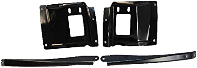 Bundle 05-07 Super Duty F250 350 450 Front Bumper Mounting Plate Out Bracket 4Pc