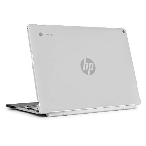 mCover Hard Shell Case for 12' 2 in 1 Touch-Screen Chromebook Series (NOT Compatible with Other HP C11 & C14 Series) laptops (HP CX12-F000 Clear)