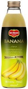 デルモンテ バナナ26% 750ml×6本 瓶