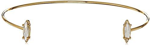 Rebecca Minkoff Sparkler Gold/Crystal Choker Necklace