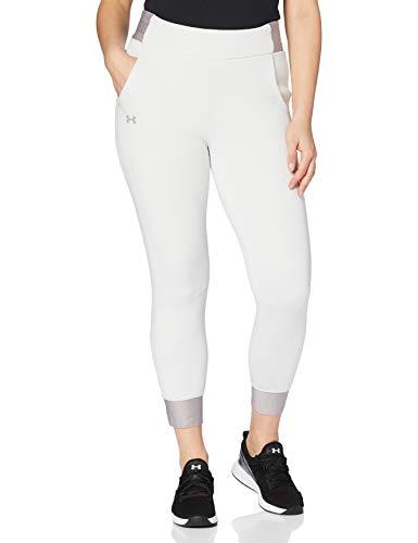 Under Armour Move Pant Pantalon Femme, Blanc, M