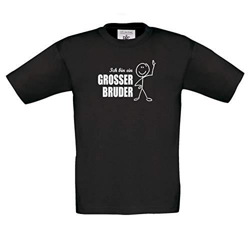 Kinder-T-shirt Ik ben een grote broer. T-shirt print van grote broer. Onze T-shirts zijn Öko-Tex 100 gecertificeerd.