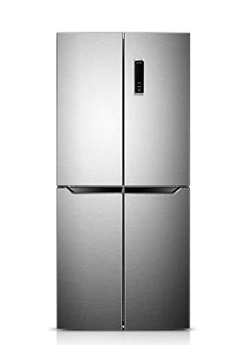 Daya, frigorifero combinato 4 porte, DF4-58NV1XE0, classe E, total inox, total no frost, display LCD