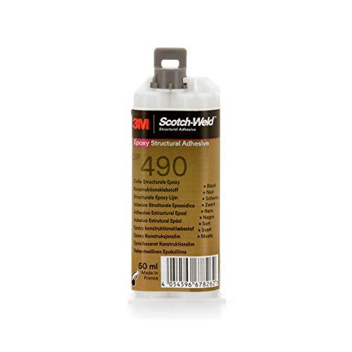 Adesivo epossidico 3M bicomponente DP490 per metalli e compositi 50 ml tissotropico