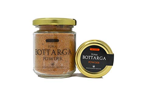 Mr Moris Thunfisch-Rogen Powder Premium Quality Bottarga Kosher (Thunnus Albacares Rogen Pulver) (70Gr)