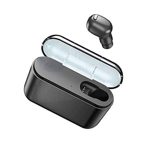 Wireless Earbuds Bluetooth 5.0 Headphones with Charging Case Built in Mic Ear Buds Noise Cancelling Earpods in Ear Headphones Pop-ups Auto Pairing Bluetooth Earbuds for iPhone/Android/Samsung