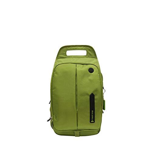 Totto–Mochila con Funda para iPad y Regis, Color Verde, Talla Talla única