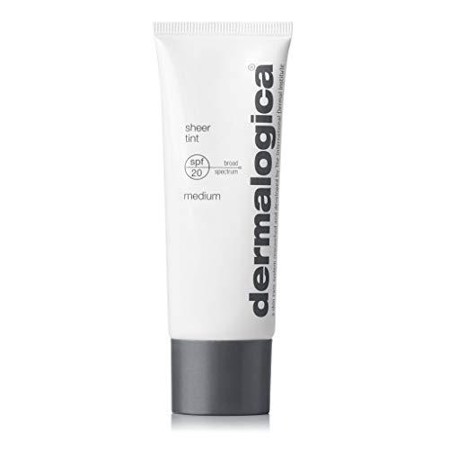 Dermalogica Sheer Tint SPF20 (1.3 Fl Oz, Medium) Tinted Moisturizer Sunscreen with Hyaluronic Acid - Skin-Evening Sheer Color That Defends Against UV Damage