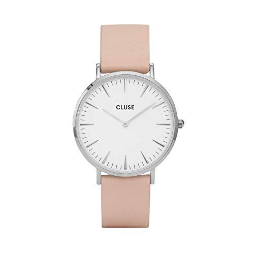 Cluse Damen-Armbanduhr Analog Quarz Leder CL18231