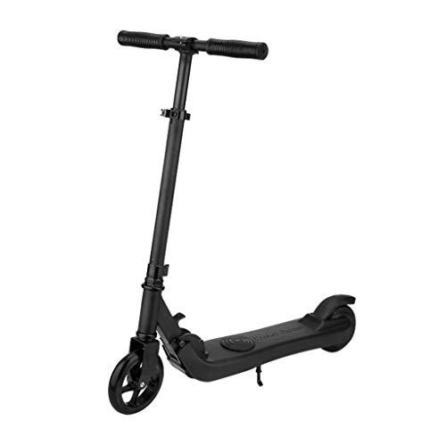 ZHX Elektro Scooter Elektroroller E-Scooter Elektroscooter Faltbar City Roller Fahrzeug 250 Watt Motor LCD-Display Tragbar Klappbar Elektroroller Scooter Geschwindigkeit Erwachsene (BK)
