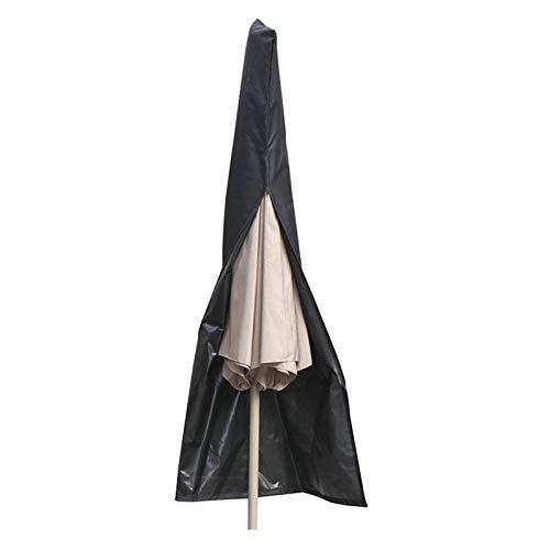 Funda Protectora de Sombrilla, Funda Parasol Funda Sombrilla Jardín Oxford Resistente al Desgarro, Resistente Al Agua Al Aire Libre Patio Protectora para Parasol de Jardín Intemperie (25 x 55 x 230cm)