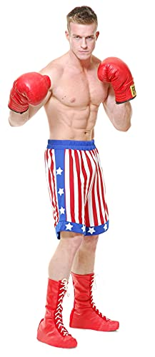 pound for pound boxer evers Charades Mens The Boxer Costume Shorts