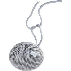 AQL - Altoparlante Portatile Bluetooth Plump, Altamente Resistente all'Acqua con Ipx 7, con Microfono per telefonate e agganciare e Cordoncino, Colore: Bianco
