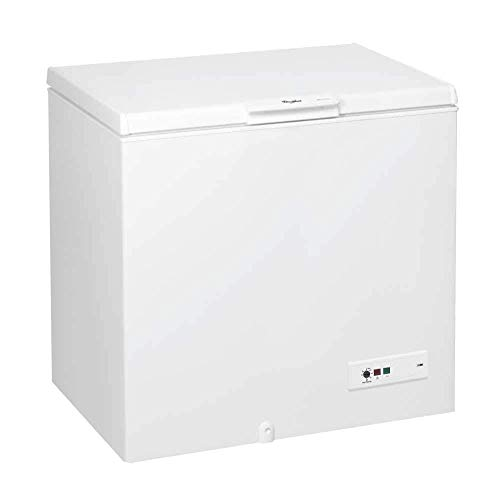 Whirlpool WHM31111 Freestanding Chest Freezer, 312 L total capacity, 118 cm wide, White