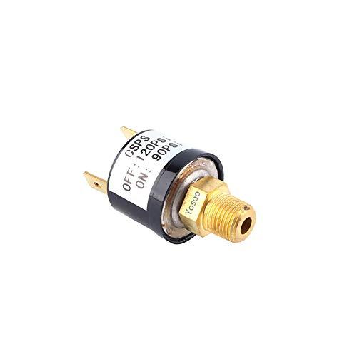 Válvula del interruptor de control de la presión del compresor de aire para trabajos pesados 90-120 PSI