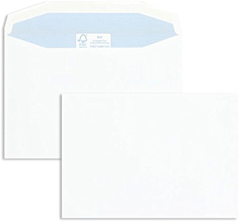 KuGrünierhüllen   Premium   162 x 229 mm (DIN C5) Weiß (500 Stück) Nassklebung   Briefhüllen, KuGrüns, CouGrüns, Umschläge mit 2 Jahren Zufriedenheitsgarantie B00FPO4LBU | Reichhaltiges Design