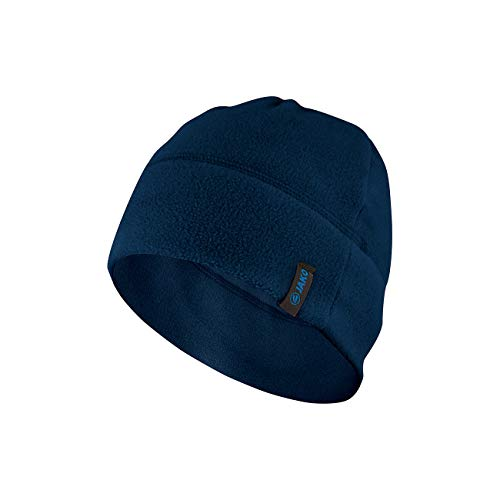 JAKO Fleece, Cappello Unisex, Marine, One Size (01)