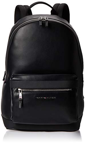 Tommy Hilfiger TH Metro Backpack, Borse Uomo, Nero (Black), 1x1x1 centimeters (W x H x L)