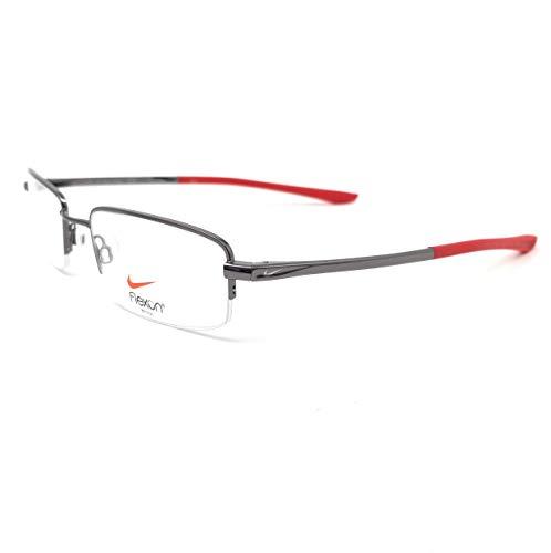 NIKE Eyeglasses 4292 070 Gunmetal Rectangle Men 53x19x145