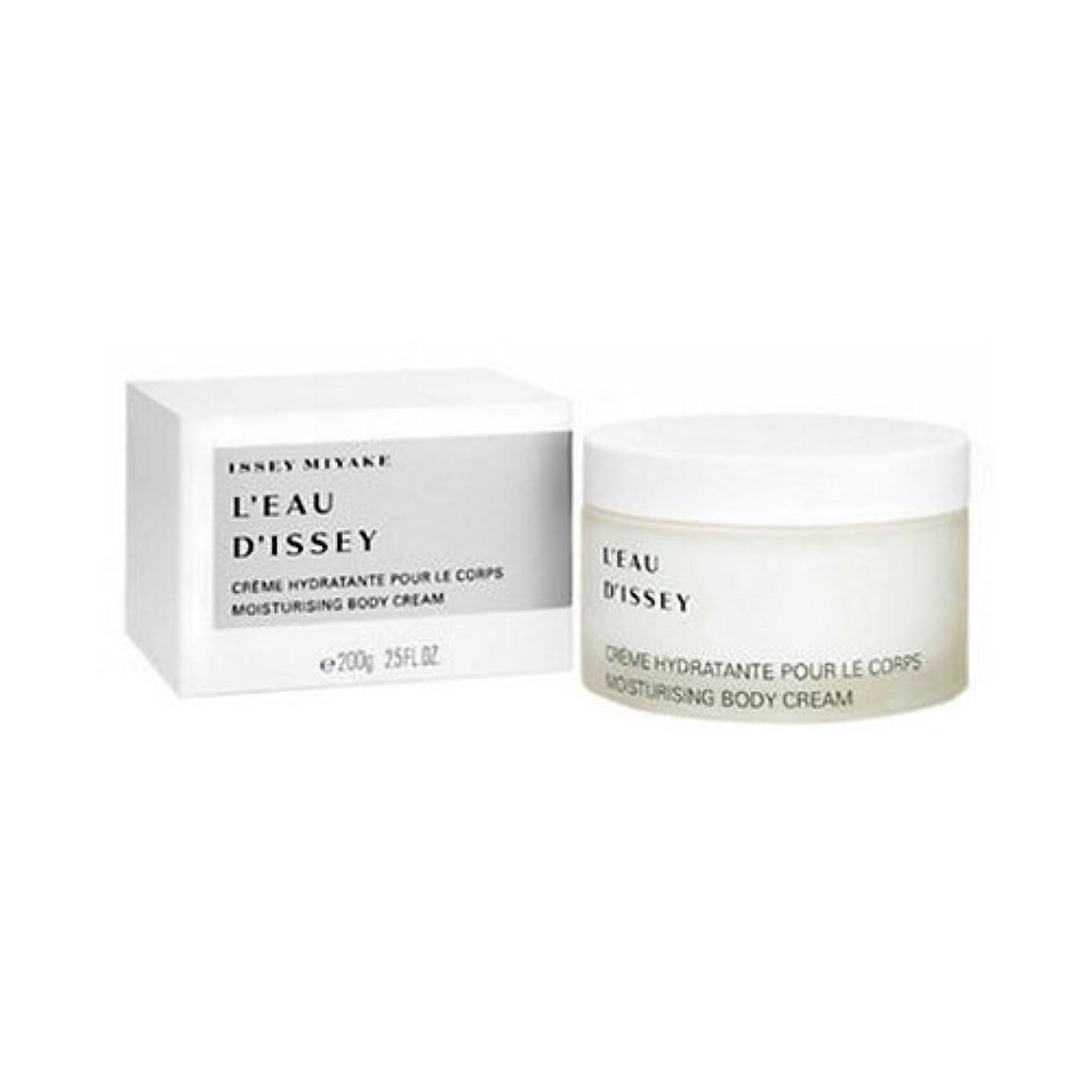 ありがたい眠るペチュランスIssey Miyake L Eau D Issey Body Cream 200ml [並行輸入品]